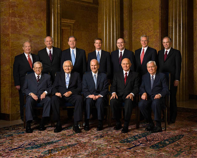 Mormon Leaders Living Apostles